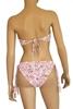 Image sur DION SUNWEAR®1436 B -Mykonos-  Haut de bikini bandeau push-up imprimé , Abstract .